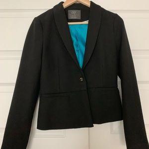 Zara black crop blazer size medium